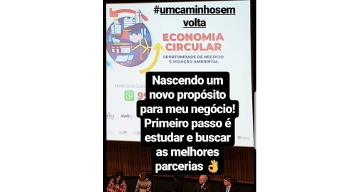 Economia Circular passa a fazer parte dos projetos futuros da empresa!