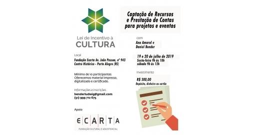 Nossa Diretora ministrará curso de captação de recursos em Porto Alegre!