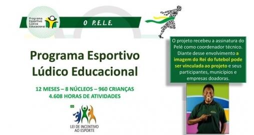 Projeto assinado pelo Rei Pelé contrata nossos serviços de captação de recursos!