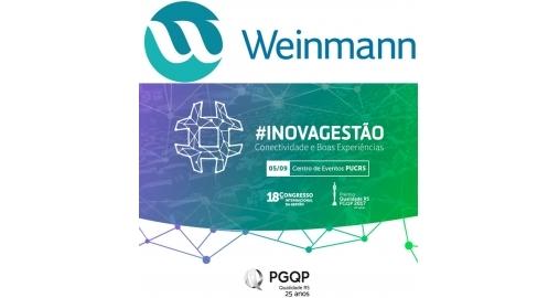 Weinmann renova patrocínio ao Congresso Internacional da Gestão!