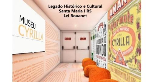Museu Cyrilla nos contrata para captação de recursos na Lei Rouanet, artigo 18