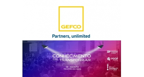 Reconquistamos o patrocínio da GEFCO para o Congresso do PGQP/RS!