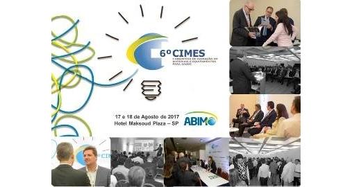 6º CIMES – Congresso de Inovação em Materiais e Equipamentos para Saúde.