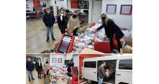 Arrecadações do Santander para a Campanha Salve Uma Causa foi sucesso!