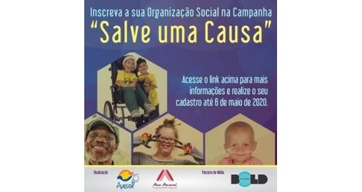 """Lançamos com a Avesol a Campanha """"Salve Uma Causa"""" na crise do Covid-19!"""