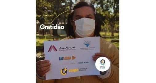 Ana Amaral recebe homenagem da Comunidade Pella Bethânia do RS!