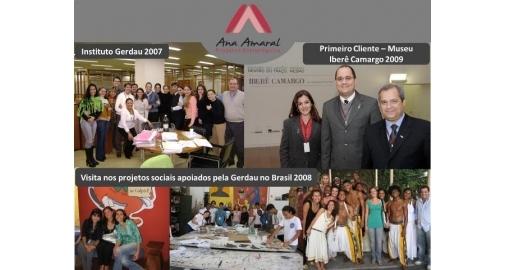 Mês de comemoração, a Ana Amaral completa 12 anos no mercado!
