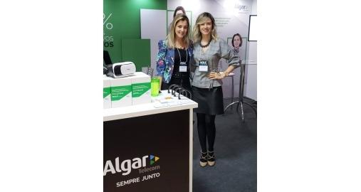 Nossa Diretora acompanhou nossa cliente Algar Telecom em evento em SC