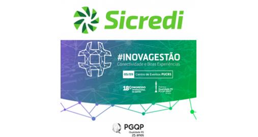 Sicredi confirma patrocínio ao 18º Congresso Internacional da Gestão!