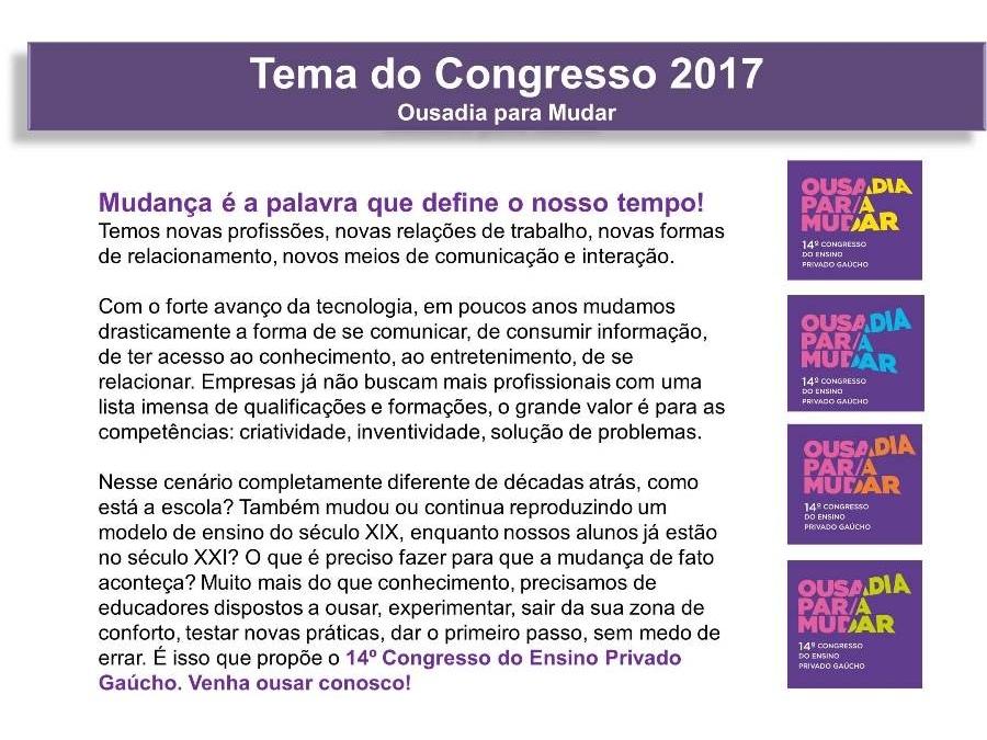 14º Congresso do Ensino Privado Gaúcho