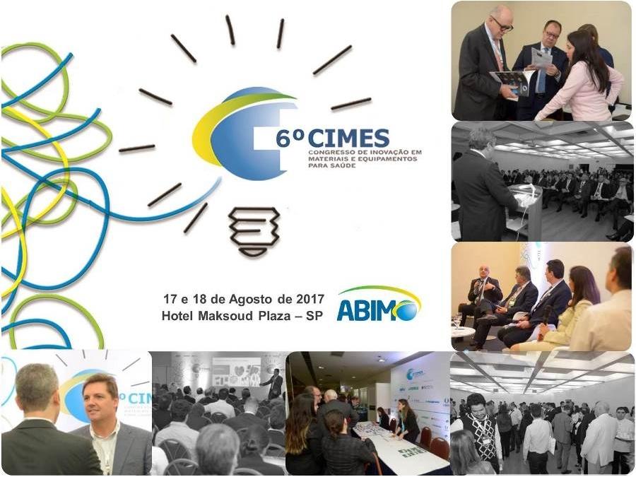 6º CIMES – Congresso de Inovação em Materiais e Equipamentos para Saúde